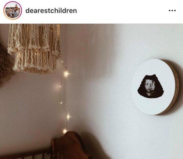 newborn gift, baby shower gift, custom nursery artwork, custom ultrasound artwork, personalised baby gifts, nursery wall art, mum-to-be, new mum